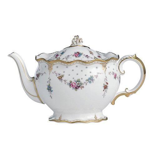 Royal Crown Derby  Royal Antoinette Large Tea Pot $828.00