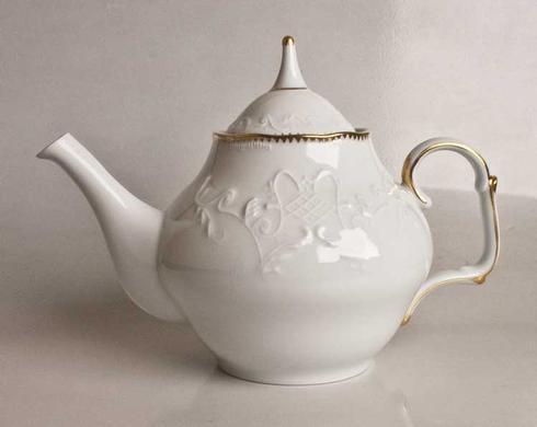 Anna Weatherley  Simply Anna - Gold Tea Pot $175.00