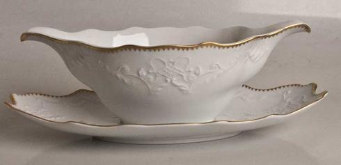 Anna Weatherley  Simply Anna - Gold Gravy Boat Tray Only $55.00