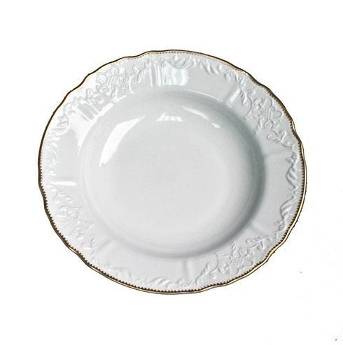 Anna Weatherley  Simply Anna - Gold Pasta Plate $78.00