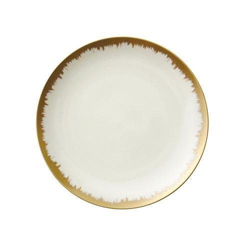 Kim Seybert  Aura (Brushstroke) Opal Dinner with Gold Brushstroke $98.00