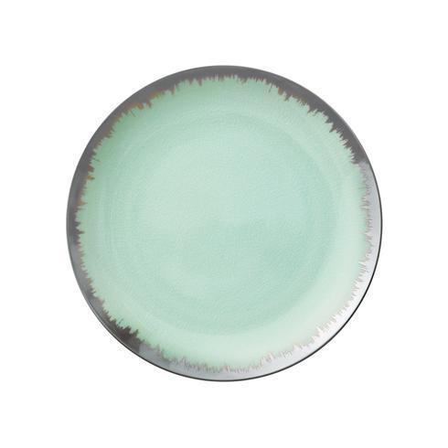 $98.00 Sea Glass Dinner with Platinum Brushstroke