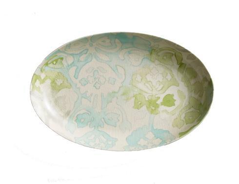 Kim Seybert  Water Color Oval Platter $195.00