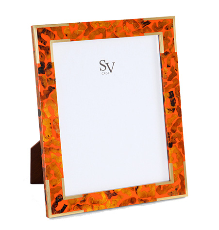 Picture Frames and Accessories - Safari Orange collection with 3 products