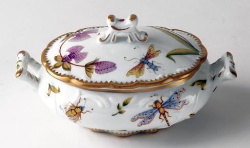Orchid Individual Soup Tureen