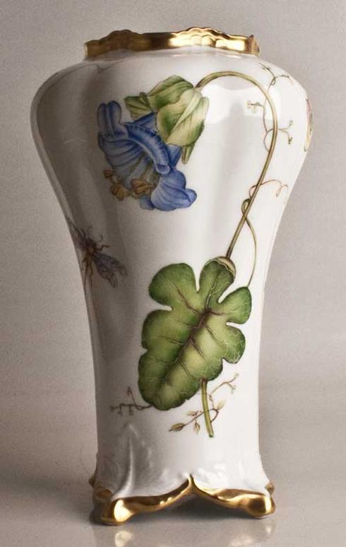 $575.00 Blue Flower Antique Vase