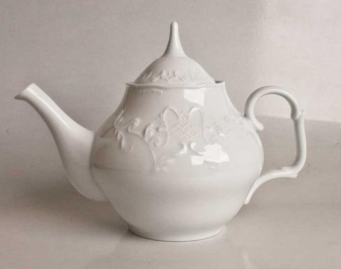 Anna Weatherley  Simply Anna - White Tea Pot $90.00