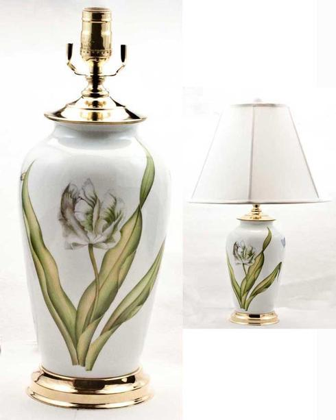 $895.00 Special Edition White Tulip Lamp