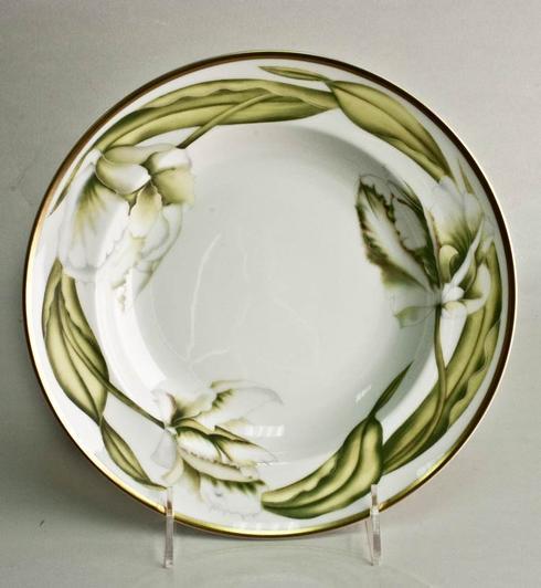 Anna Weatherley  White Tulips Rim Soup $68.00