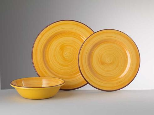Dinnerware - St. Tropez Yellow collection with 3 products