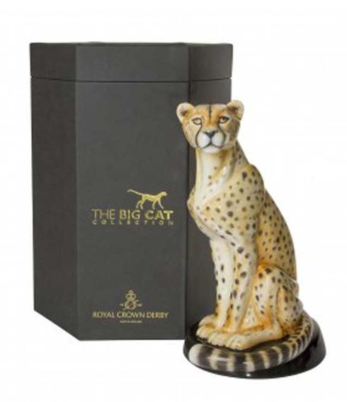 $3,494.00 African Cheetah Paperweight