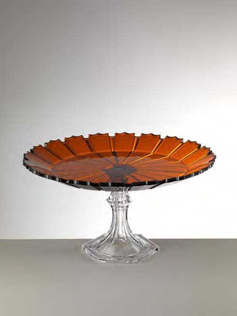 $98.00 Amber Cake Plate