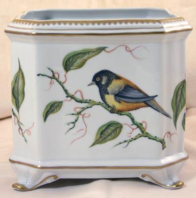 Sparrow Square Cachepot