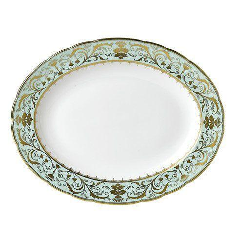 Royal Crown Derby  Darley Abbey Medium Platter $555.00