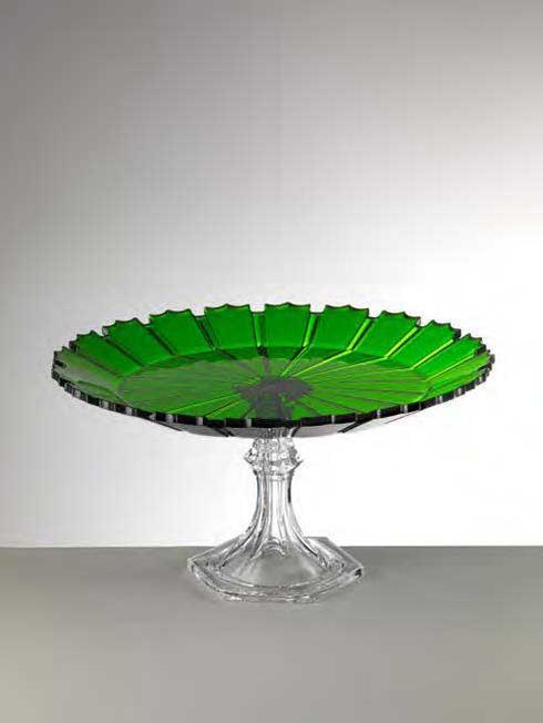 $98.00 Green Cake Plate