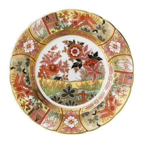 Royal Crown Derby  Imari Accent Imari Garden Plate in Gift Box $244.00