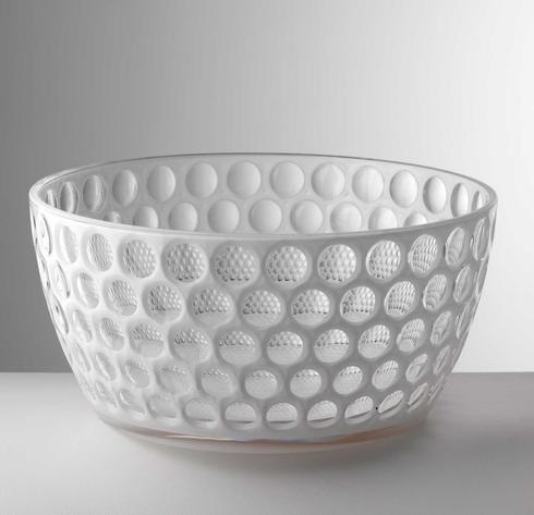 $85.00 White Salad Bowl