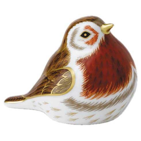 $156.00 Royal Robin Paperweight