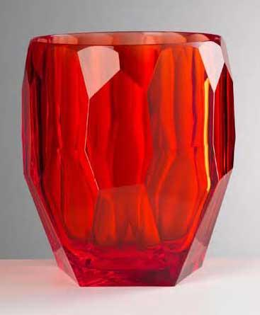 Red Ice Bucket