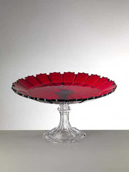 $98.00 Red Cake Plate