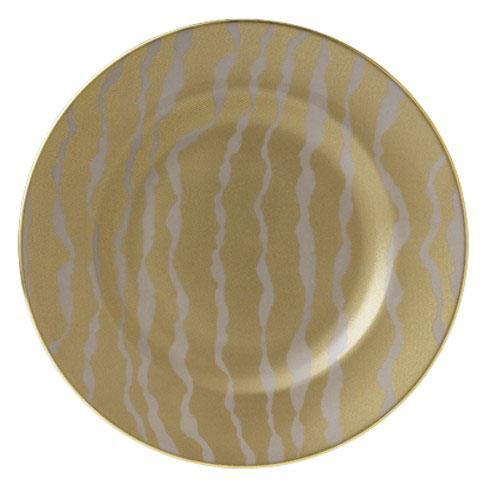 $170.00 Ruche Flow Taupe Accent Plate