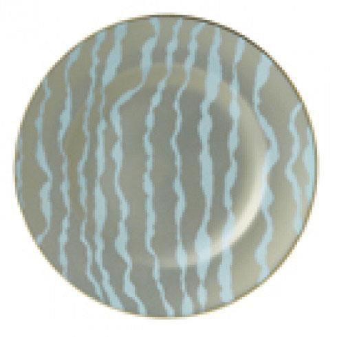 $170.00 Ruche Flow Pale Blue Accent Plate