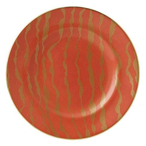 $155.00 Ruche EBB Coral Red Accent Plate