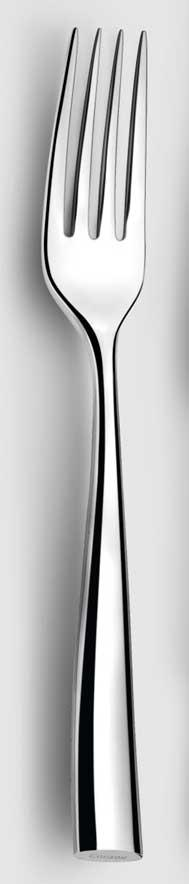 Couzon Stainless Steel Flatware Silhouette Serving Fork $55.00