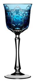 Sky Blue Wine Glass