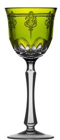 Yellow/Green Wine Glass