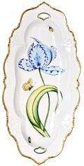 Anna Weatherley Old Master Tulips Tulip Large Oval Platter