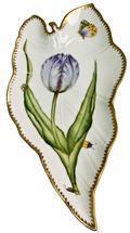 Blue/Lavender Tulip Leaf Tray